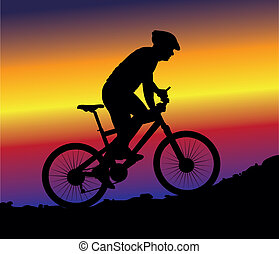 hegy bicikli, -, háttér