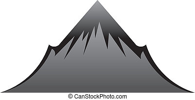 hegy, fekete