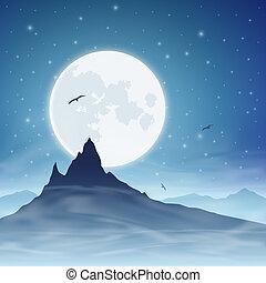 hegy, hold