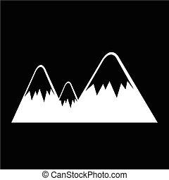 hegy, ikon