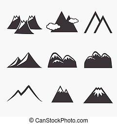 hegy, ikonok
