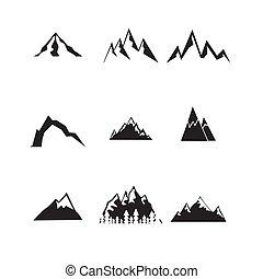 hegy, set., ikonok