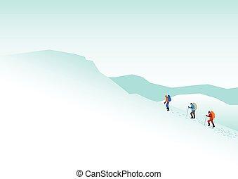 hegy, természetjárás