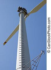 hegy, turbina, felteker