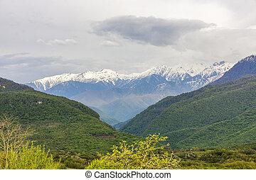 hegyek, abkhazia