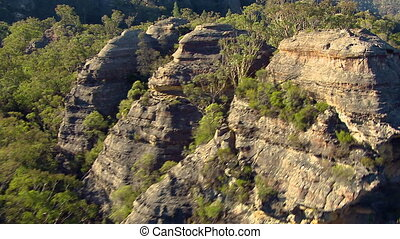hegyek, antenna vadászterület, erdő