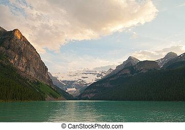 hegyek, closeup, havas