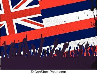 helyzet lobogó, kihallgatás, hawaii