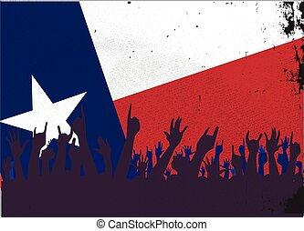 helyzet lobogó, kihallgatás, texas