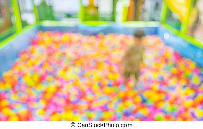 herék, színes, kép, műanyag, gyermekek játszótér, elhomályosít