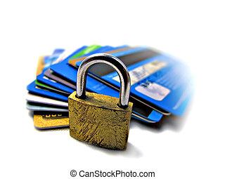 hitel, biztonság, biztonság, kártya