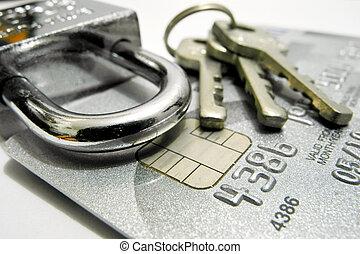 hitel, biztonság, kártya