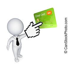 hitel, card., hegyezés, személy, 3, kicsi