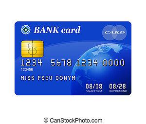 hitel, elszigetelt, kártya
