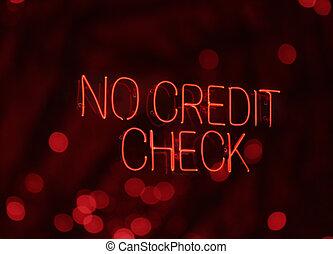 hitel, fénykép, aláír, bokeh, nem, neon, check., beborítani, tényleges
