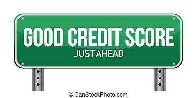 hitel, jó, igazságos, előre, áthúz