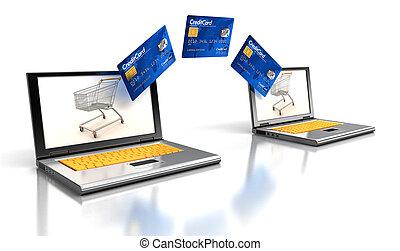 hitel kártya, laptops