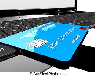 hitel, laptop, kártya