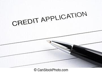 hitel, tiszta, forma, alkalmazás