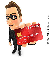 hitel, tolvaj, 3, birtok, kártya