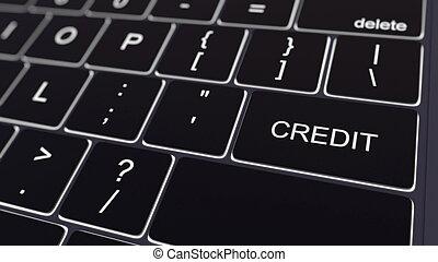 hitel, vakolás, izzó, számítógép, fekete, key., billentyűzet, fogalmi, 3