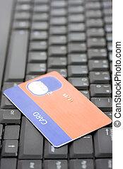 hitelkártya, billentyűzet