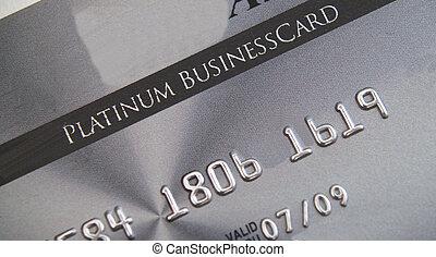 hitelkártya, platina