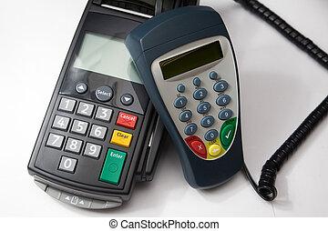 hitelkártya, terminal.