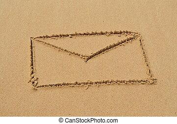 homok, levél