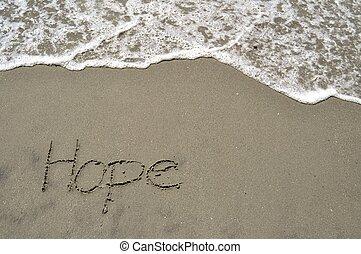 homok, remény