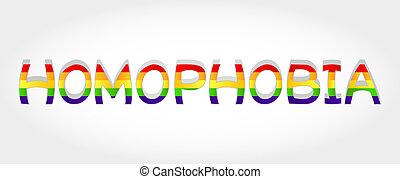 homophobia, szó