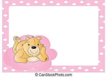 hord, teddy-mackó, babygirl