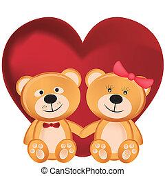 hordoz, teddy-mackó, 2 nap, valentine's
