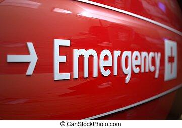 hospital., aláír, szükséghelyzet