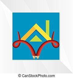 house-icon-vector