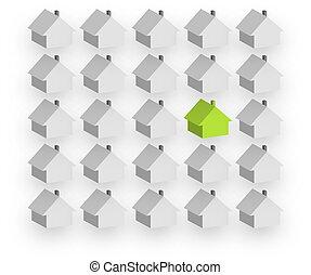 housebuilding, egyén