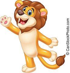 hullámzás, csinos, oroszlán, kéz