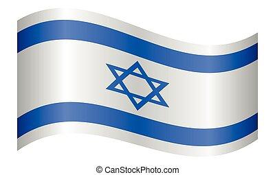 hullámzás, izrael, white lobogó, háttér
