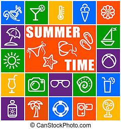 idő, nyár