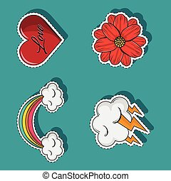 időjárás, állhatatos, szeret, karikatúrák