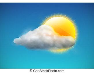 időjárás, ikon