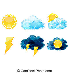 időjárás, különféle, írógépen ír