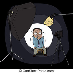 ideges, fényképezőgép bábu