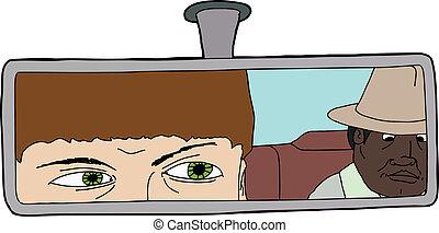 ideges, sofőr, taxi