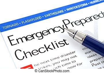 ideiglenes katalógus, felkészültség, szükséghelyzet