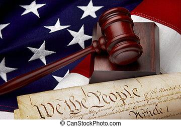igazságosság, amerikai, halk élet