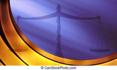 igazságosság, háttérfüggöny, mérleg