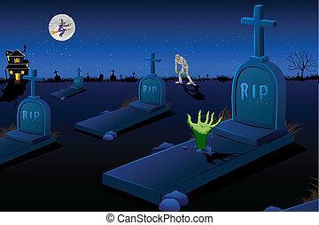 ijedős, temető