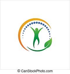 ikon, ábra, tervezés, gerinc kezelése, vektor, jelkép