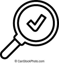 ikon, áttekintés, mód, összpontosít, szakvélemény
